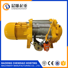 Fast Speed Electric Small Winch 380V Wire Rope Cable Hoist 2 Ton