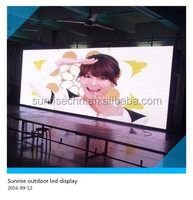 types of advertising boards electronics Outdoor Rental LED Display