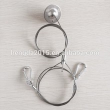 The Best and cheapest ceiling attachment hanging stainless wire rope with cable adjusters