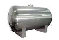 Coconut oil tank/vertical and horizontal tank reactor/carbon steel and stainless steel tank with level gauge