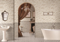 Foshan manufacturing Kajaria vitrified bathroom wall tile made in China