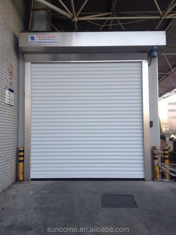 Security shutter roll up doors made in china buy security shutter roll up doors exterior for Roll up window shutters exterior
