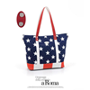 Popular American Flag Canvas Wholesale Tote Bag
