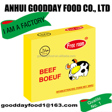 Halal certificated beef flavour bouillon seasoning cube for africa market