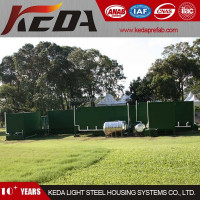 Portable Outdoor 20ft Container Toilet & Ablution & Lavatory 2862
