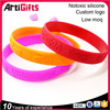 Wristband factory custom bulk multi colors silicone rubber wrist band bracelet
