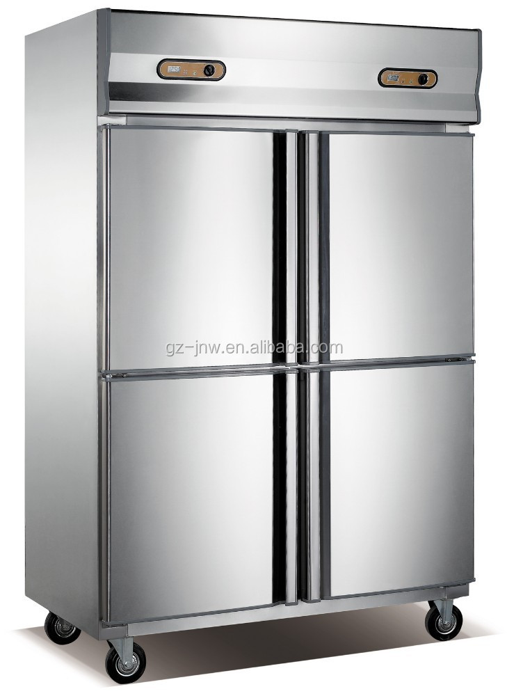 high quality 4 doors commercial refrigerator/ kitchen equipment
