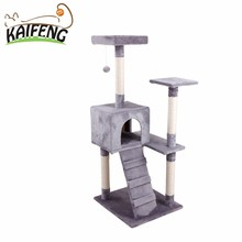 Top Quality Manufacturer Stock Luxury Top Sisal Cat Condo Tree Pet Product