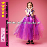 Wholesale Fashion Design Purple Wedding Tutu Dress Party Tutu Dress