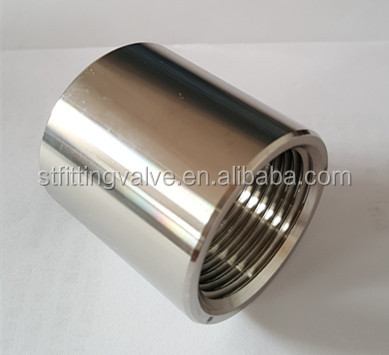 "SS 3/8"" NPT Coupler for homebrew pipe <strong>fitting</strong>"