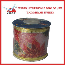 christmas deco mesh ribbon for packing