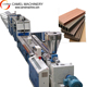 China wood plastic composite decking / wpc decking boards production line
