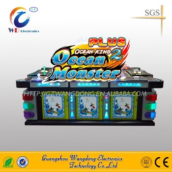 Igs game board shooting fish game fish arcade game machine for Fish game gambling