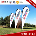 Factory supply promotion national teardrop beach flag
