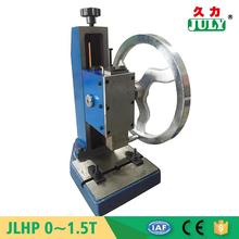 JULY brand durable hand operated punch press machine