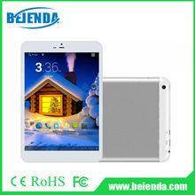 7.85 inch 3g android tablet pc MTK8382 quad core processor, Android 4.4 kitkat system 1G, 8G IPS display 1024x768 pixels