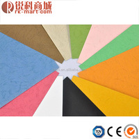 210g craft leather grain cover color embossing paper for kids DIY