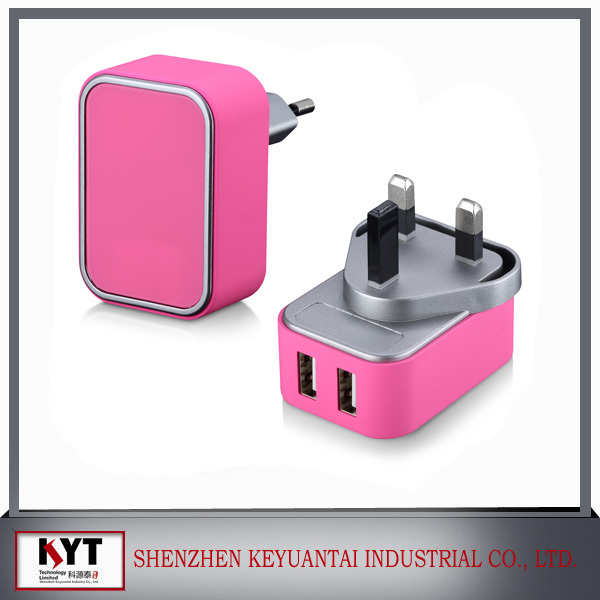 new premium products innovation 5V 4A wall usb charger, CB CE FCC ROHS certified battery charger for phone case