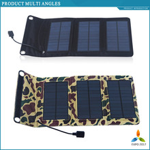 New Energy hottest selling back pack 5w mobile solar charger for mobile phone powerbank etc