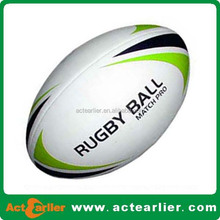 match rugby balls size 5 pvc leather rugby ball