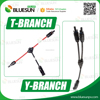 Bluesun solar cell connector mc3 mc4 with 1.5mm 2.5mm 4mm 6mm PV cable