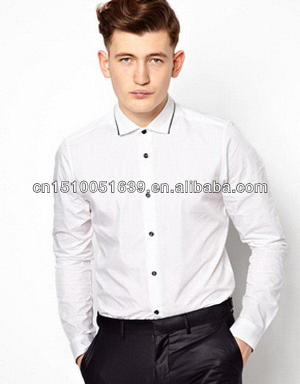 Sexy mans smart shirt with mesh inner