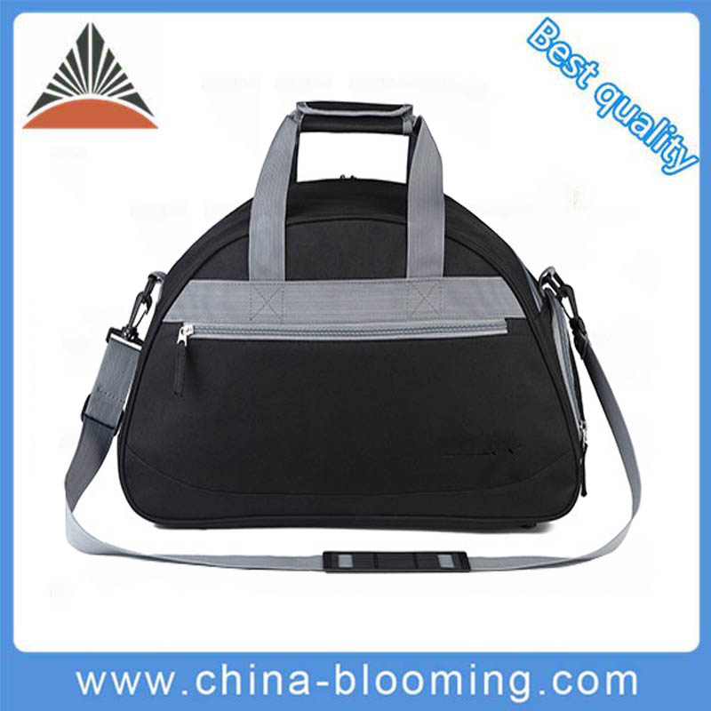 Best Quality Polyester Plain Traveling Fitness Gym Travel Duffel Bag
