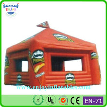 promotion Inflatable advertising market stand promotional booth, inflatable tent with rooms, inflatable bar tent