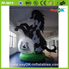 Sayok custom giant inflatable horse racing with logo for advertising