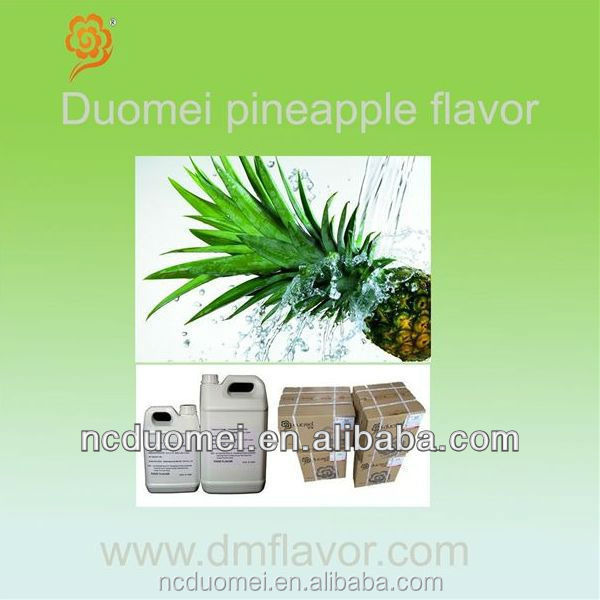 Pineapple flavor food grade flavor artificial fruit fragrance for Halal drink