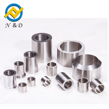 Tungsten carbide shaft protecting sleeve