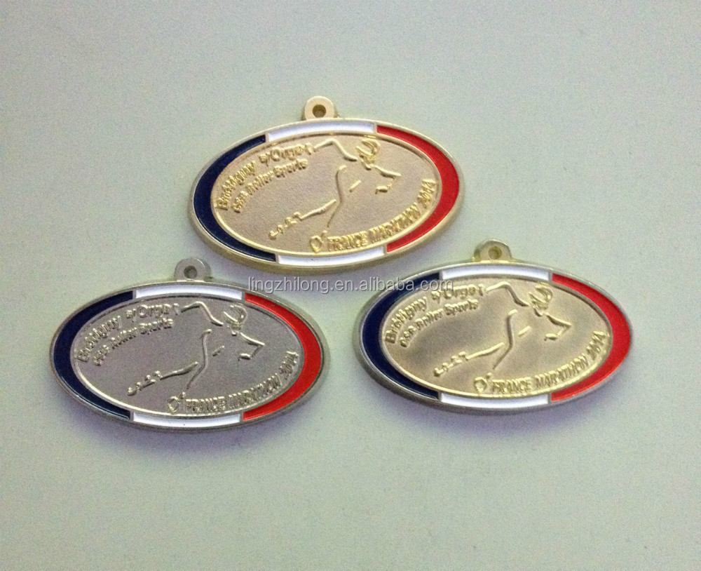 Metal gold sport medal,custom sports silver medals,sports bronze cups and medals