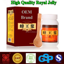 HIgh quality organic fresh royal jelly manufacutrer of royal jelly products