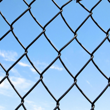 Alibaba wholesale used chain link fence/high tensile chian link fence