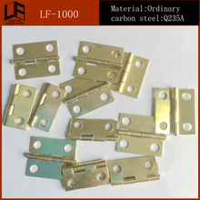 Factory supply Small Brass round box hinge for Jewelry box