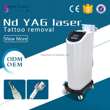 Professional Pigment treatment equipment 1064nm 532nm q switch nd yag laser tattoo removal machine
