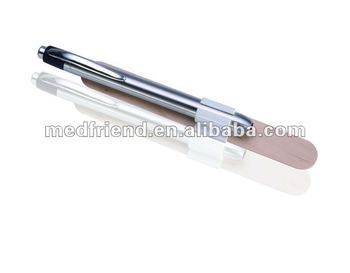 Stainless Steel Penlight with Tongue Depressor Clip