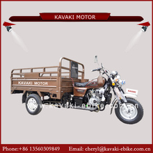 KAVAKI Manufacture product gasoline three wheel motorcycle 150cc engine air cooled for cargo