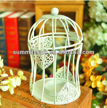white small decorative bird cages for wedding