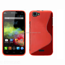 for wiko rainbow red s line case tpu case high quality factory price