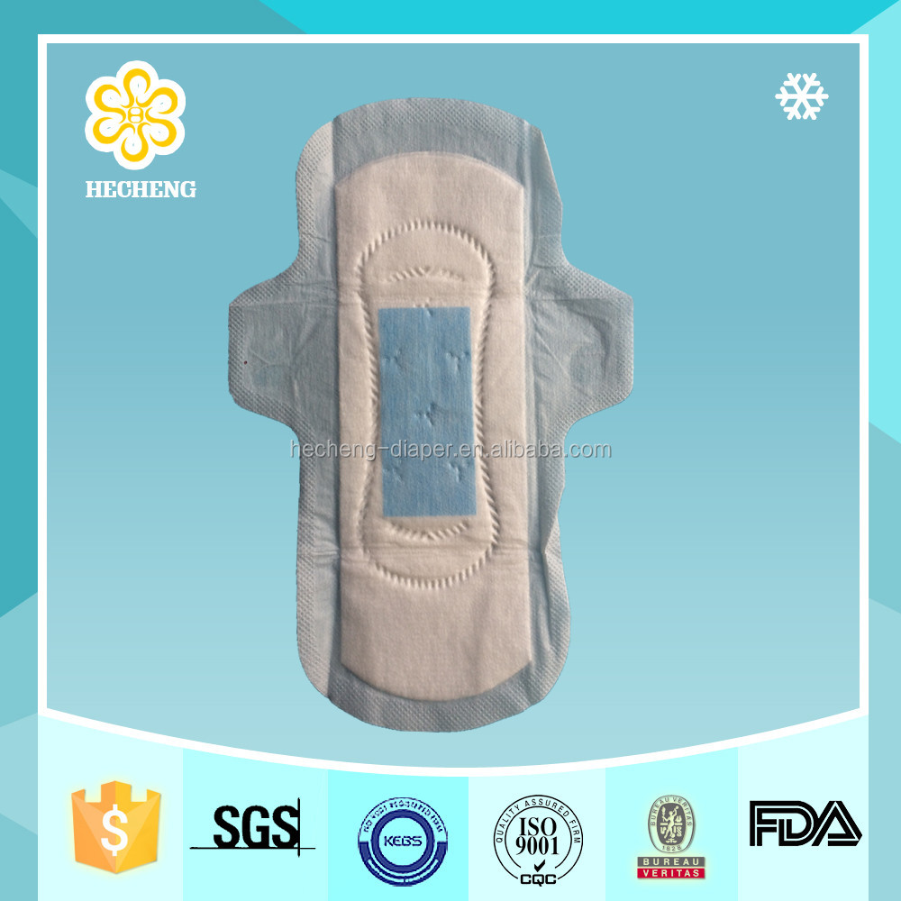 Day Time Used And Cotton Absorbent Premium Quality Sanitary Napkin Pads