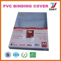 school a4 pvc spiral binding sheet