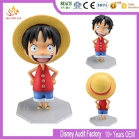 OEM 2015 custom ONE PIECE plastic Luffy action figure