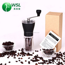 2017 hot sale new design portable mini manual coffee grinder coffee grinder parts