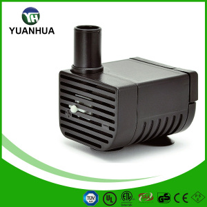 66 GPH low voltage submersible fountain pump with LED light