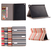 Super Hot Stripe Pattern Wallet Flip Case for iPad Mini 4, For iPad Mini 4 Flip Case