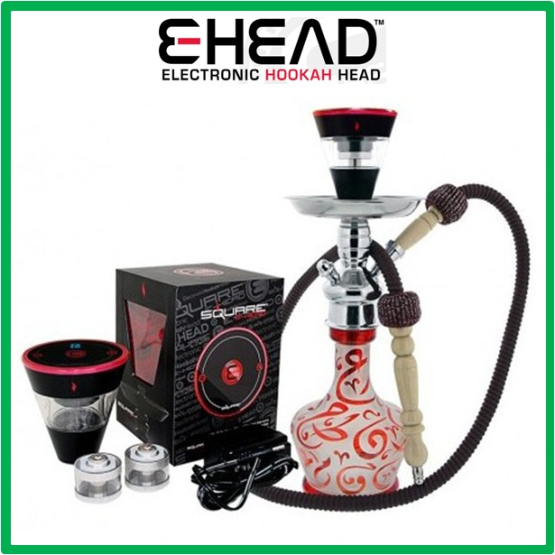 2015 new products Square e-Head Electronic Hookah Bowl E Hookah Head E Head hookah accept paypal