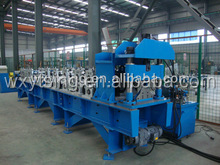 Passed CE and ISO YTSING-YD-1057 Ridge Cap Of Roofs Tile Roll Forming Machine Manufacturer