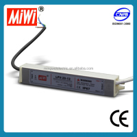 MIWI LPV-20-12 Waterproof Outdoor IP67 20W 12vdc 1.7A Led driver,ac/dc power supply