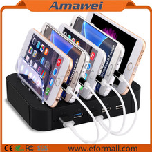 Universal Multi Port 5 Port Mobile Phone USB Charging Station